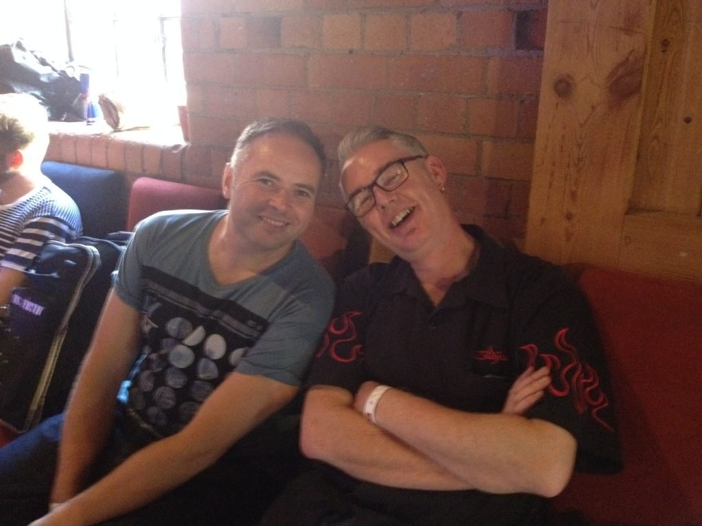 Paul Hose with Glenn Hallam - MLC Drumfest 2013