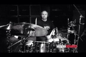 Paul Hose filing for Modern Drummer