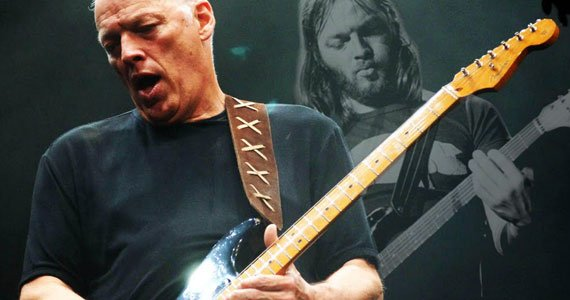 Pink Floyd guiatrist, David Gilmour