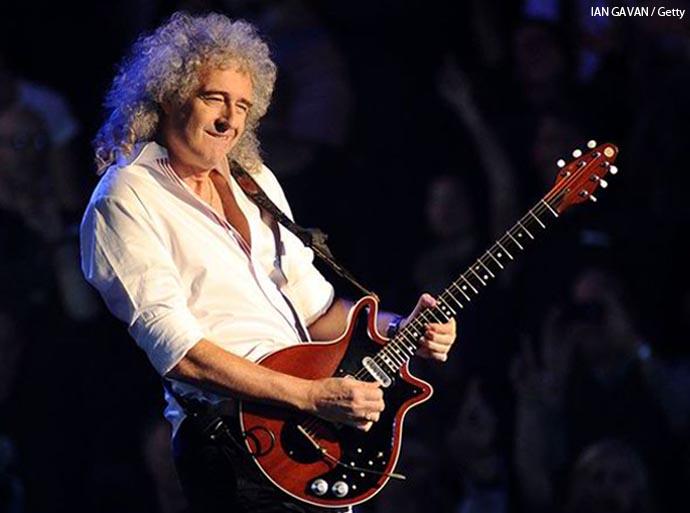 Queen guitarist, Brian May