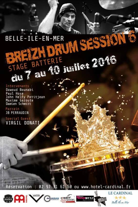 Breizh Drum Session 2016
