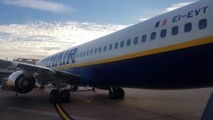 Ryanair Flight to Turin