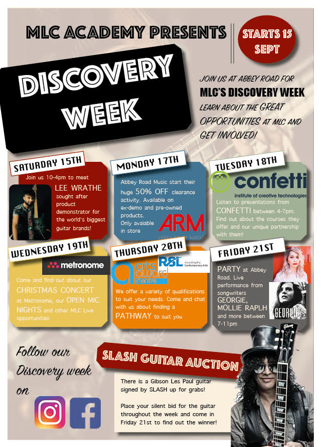 Discovery Week - MLC Academy